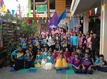 งานวันเด็ก 12ม.ค.2561 จัดที่ รร.วัดสวัาดิ์วารีสีมารามและชุมชนวัดสวัสดิ์วารีสีมาราม